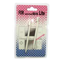 Nintendo DS LITE Stylus Pen  Retractiles(2 punteros COLOR BLANCO) - Nintendo DS LITE  Stylus Pen Retractil  2 punteros  de recambio para tu Nintendo DS LITE