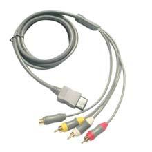 NINTENDO Wii S-Video AV Cable - CABLE PARA NINTENDO Wii CON CONEXION AV Y S-VIDEO