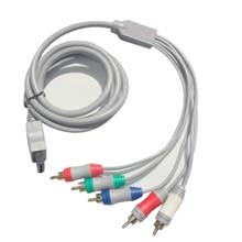 Cable por Componentes de Wii - El Cable por Componentes de Wii conecta la consola Wii al televisor para poder ver y disfrutar los juegos con la mejor calidad de imagen posible.