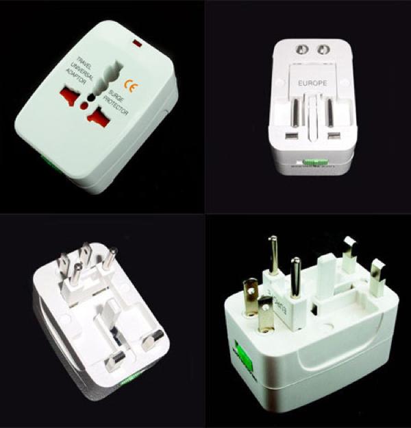 ADAPTADOR ENCHUFES UNIVERSAL - Un revolucionario adaptador válido para los enchufes de más de 150 países. Universal: Conecta tus electrodomésticos portátiles a la corriente de cualquier lugar del mundo.