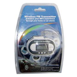 Transmisor Digital FM para  MP3 / CD / DVD / Ipod / Pc - Transmisor DigitalFM para  MP3 / CD / DVD / Ipod / Pc, para eschuchar por los altavoces del automovil la musica de tu reproductor MP3,  iPod, Diskman, etc...