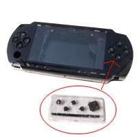 CARCASA COMPLETA DE PSP COLOR NEGRO (INCLUYE BOTONES) - Carcasa completa para PSP. Incluye carcasa frontal, carcasa trasera, tapa batería, tapa lector UMD y todos los botones (excepto botones L y R)  Color NEGRO.