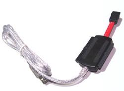 Adaptador USB 2.0  para discos duros  IDE y Sata - Adaptador USB 2.0  para discos duros  IDE y Sata  Version sencillar de un adaptador de discos duros por puerto USB, valido para todos los discos IDE y Sata Incluye fuente de alimentacion para los discos duros