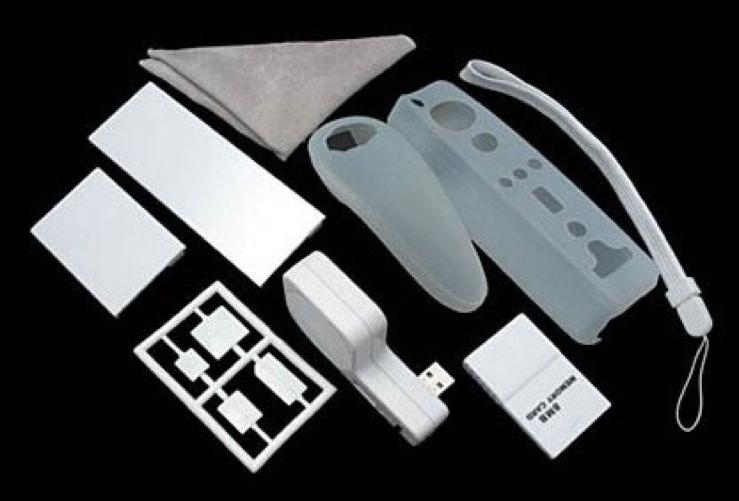 WII 10 en 1 Pack accesorios - Pack 10  en 1de accesorios para  Wii. 10 accesorios por el precio de 1.