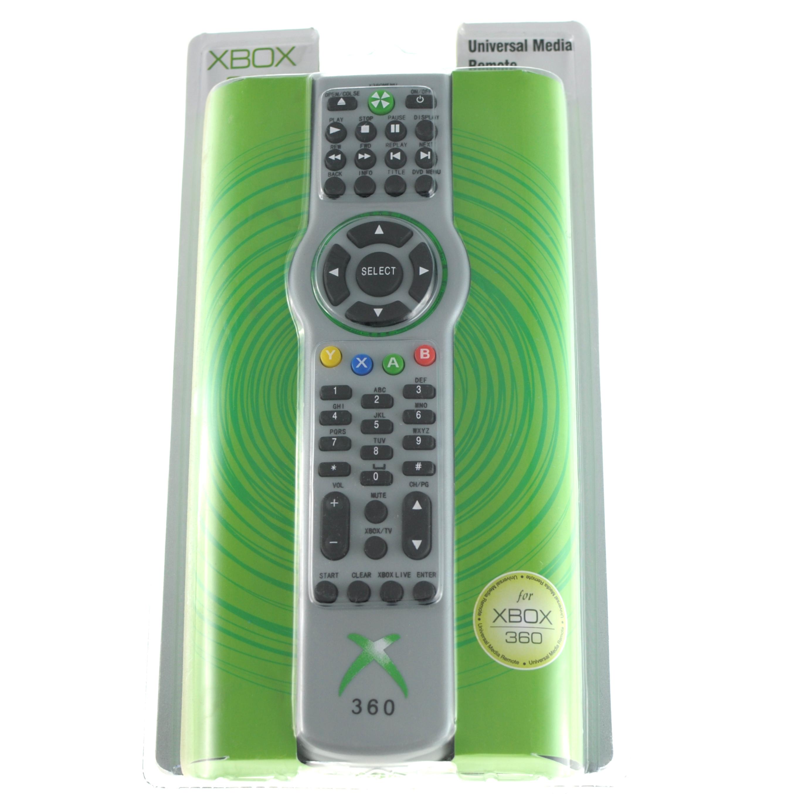 Mando Multimedia Universal XBOX 360 - El Mando multimedia universal Xbox 360 ha sido diseñado como centro de control integrado para la experiencia de utilizar Xbox 360. Entra en una nueva dimensión del entretenimiento digital con solo pulsar un botón.Reproduce películas en DVD y música, y controla tu televisor y tu PC Media Center con un único mando.