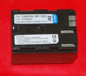 Batería compatible  CANON BP-522 - Batería compatible  CANON BP-522