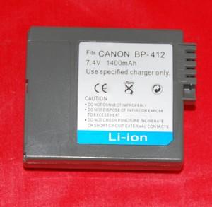 Batería compatible  CANON BP-412 - Batería compatible  CANON BP-412