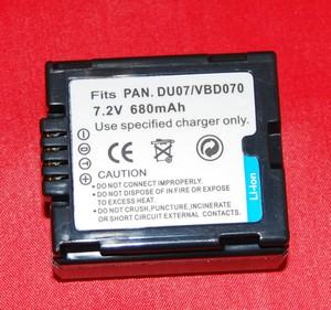 Batería compatible  PANASONIC DU07/VBD070 - Batería compatible  PANASONIC DU07/VBD070