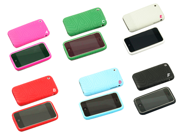 Protector de silicona para iPhone 3G y para el iPhone 3GS (7 colores disponibles) - Protector de silicona para iPhone . Protege de arañazos y pequeños golpes. Gracias a su ligereza y pequeño grosor, apenas cambia el peso y tamaño de Iphone.
