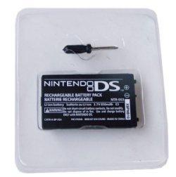 Batería Recargable de Ion-Litio NDS - Batería Recargable de Ion-Litio NDS  • Sólo para NDS.  • 3.7V 850mah.  • Por favor, recargue la batería durante 7-8 horas la primera vez que la use