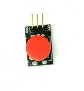 Boton grande Arduino - interruptor de botón,del tamaño de un dedo, que puede ser conectado al puerto de E / S de la placa principal.