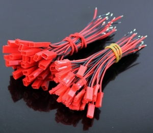 PACK 20 CONECTORES JST CON CABLE (10 HEMBRA + 10 MACHO) - PACK 20 CONECTORES JST CON CABLE (10 HEMBRA + 10 MACHO)