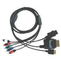 4 en 1 cable por componentes para PS2/PS3/Wii/XBOX360 - 4 en 1 cable por componentes para PS2/PS3/Wii/XBOX360