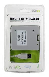 Batería recargable 1000mAh para Wii Fit - Batería recargable 1000mAh para Wii Fit.  Recarga mediante el puerto USB de la consola o de cualquier ordenador. Cable USB de carga incluido