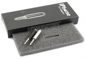 Adaptador Auriculares iPhone - Conecta cualquier auricular estandar de forma rapida y sencilla a tu iphone o cualquier transmisor FM o altavoz portatil con conector de 3.5mm