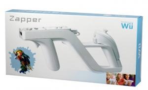 Pistola Zapper para Wii - Convierte el mando Wii Remote   y nunchuck en una pistola zapper . Diseño de carga fácil y extracción rápida para conectarlo y desconectarlo de tu mando Wii Remote y nunchuck.  Para usarlo como  pistola o arco  * Wii Remote y nunchuck NO INCLUIDOS.