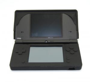 Funda potectora Silicona  para Nintendo DSI [COLOR NEGRO] - Funda protectora de silicona para NDSi