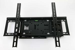 """Soporte Televisión Pared articulable VESA 200x200/400x400 - Valido de 32"""" a 50"""" max 25kg  - Soporte Televisión Pared articulable VESA 200/400 - Valido de 32"""" a 50"""" max 25kg  Soporte de doble articulación giratoria y inclinacion para LCD, LED o Plasma de 32"""" a 55"""" que permite un ángulo de inclinación de hasta 30º y giro hasta 180º. Compatible con VESA de  200x200mm/400x400mm. Está fabricado en acero, con acabado negro, y soporta hasta 20 kg."""
