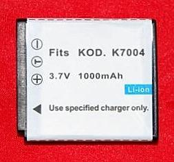 Batería compatible  KODAK KLIC-7004 - Batería compatible KODAK KLIC-7004