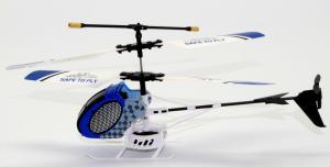 HELICOPTERO IR CONTROL MODELO 8087 (COLOR AZUL) - HELICOPTERO IR CONTROL MODELO 8087 (COLOR AZUL) El Mini Helicóptero de IR Control 8087 tiene una estructura de piezas plastico.Siendo de un tamaño pequeño de 19 cm de largo x 4 cm de ancho x 8,5 de alto en apto para su uso tanto interior como exterior. Es el helicoptero economico   para  niños, jovenes o no tan jovenes que quieran adentrarse en el vuelo con Helicopteros Listo para volar no precisa de ningun tipo montaje,ideal para principiantes. Incluye leds de colores en el interior que se iluminan cuando esta encendido. Es un regalo para estas navidades a un precio increible.