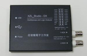 Analizador logico y Osciloscopio XZL-STUDIO DX USB (WINDOWS)  - Analizador logico y Oscilloscopio XZL-STUDIO DX por USB para windows (WINDOWS)  Con este adaptador usb y el software USB DX(solo compatible con el software suministrado), podras convertir tu PC en un potente oscilloscopio digitas y analizador logico.