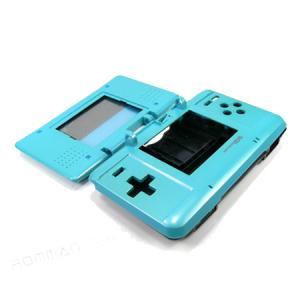 Carcasa Recambio para Nintendo DS  (AZUL MARINO) - Carcasa de repuesto para NDS (no sirve para Lite).Con todo lo necesario para la sustitucion completa de carcasa y botones. Incluye tornilleria, tacos de goma y pegatinas.