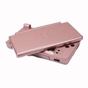 Carcasa Recambio para Nintendo DS Lite (Color ROSA METALICO) - Carcasa de repuesto para NDS  Lite.  Con todo lo necesario para la sustitucion completa de carcasa y botones. Incluye tornilleria, tacos de goma y pegatinas.