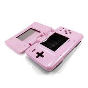 Carcasa Recambio para Nintendo DS  (ROSA) - Carcasa de repuesto para NDS (no sirve para Lite).Con todo lo necesario para la sustitucion completa de carcasa y botones. Incluye tornilleria, tacos de goma y pegatinas.