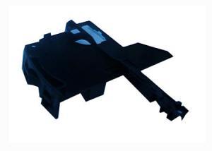 Plastico de la base de entrada de las tarjetas Memory stick Pro Duo para PSP 3000. - Pieza de recambio del plastico de la base de entrada de las tarjetas Memory stick Pro Duo para PSP 3000.