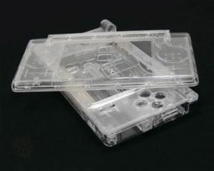 Carcasa Recambio para Nintendo DS Lite (TRANSPARENTE) - Carcasa de repuesto para NDS  Lite.  Con todo lo necesario para la sustitucion completa de carcasa y botones. Incluye tornilleria, tacos de goma y pegatinas.