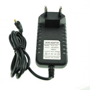 Adaptador corriente 5VDC 2A para tablets conector 2,5mm -  Adaptador corriente 5VDC 2A  para tablets conector 2,5mm