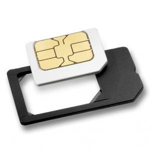 Adaptador Microsim a SIM - Adaptador Microsim a SIM . Convierte tu MicroSim en SIM.
