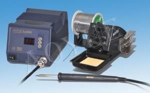 """AOYUE INT2900 ESTACION DE SOLDADURA DIGITAL PARA SOLDAR LIBRE DE PLOMO - Estación de soldadura DIGITAL libre de plomo con control de temperatura. Sistema """"One Step"""" de inserción/extración del cartucho sencillo y rápido.  Contenido:  Estación INT290, soldador B010, cartucho para soldador LF-2B, soporte para soldador  cable corriente."""