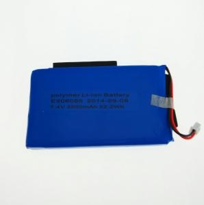 Bateria original medidores Satlink 7,4V , 3000mah - Bateria recambio de polimero de litio para medidores Satlink Voltaje: 7,4V  Potencia: 3000mah