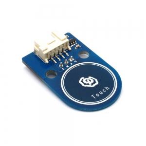 Boton tactil arduino - Interruptor tactil del tamaño de un dedo, que puede ser conectado al puerto de E / S de la placa principal o externamente desconectado para comprobar el estado del interruptor para controlar ON / OFF de la lámpara de LED por ejemplo o cualquierotra aplicacion