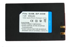Batería compatible  SAMSUNG SB-BP80W - Batería compatible  SAMSUNG SB-BP80W