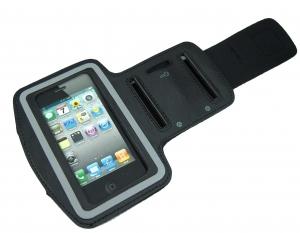 Brazalete Sport para   iPhone/iPhone   4/4S   - Opte por el movimiento y la vitalidad sin que la música sufra interferencias gracias a su iPhone  y al brazalete para iPhone   4 e iPhone 4S