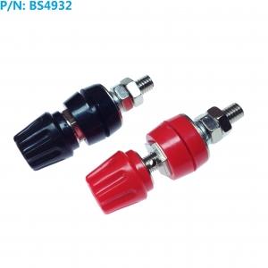 BS4932 Pack 2 Terminales Rojo-Negro  4mm Hembra 60v-50A - BS4932 Pack 2 Terminales Rojo-Negro  4mm Hembra 60v-50A