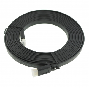CABLE HDMI  V1.4 de 5 metros de longitud plano para PS3/XBOX360( ALTA VELOCIDAD)  - Juega a los juegos de PS3/XBOX360 en Alta Definicion en tu televisor HDTV, reproduce blueray, o contenidos en alta definicion desde un reproducto media player, este es el unico cable que puede sacar la mejor calidad de imagen la PS3 y mayor resolucion grafica incluido las nueva funcion 3D. Con este cable se puede obtener la maxima definición de imagen con la PS3