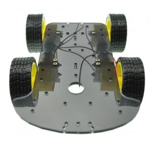 Chasis robot 4x4 con motores - Chasis robot 4x4 con motores