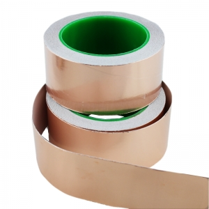 Cinta de cobre adhesiva 50mm x 20 metros - Cinta de cobre adhesiva 50mm x 20 metros Cinta de cobre conductora con 1 cara adhesiva