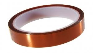 Cinta adhesiva Kapton 30mm (resitente al calor) - Cinta adhesiva Kapton 30mm (resitente al calor), tambien conocida como cinta de poliamida Producto para reballing BGA, y trabajos de soldadura en los que sea necesario proteger algun componente del calor