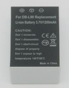 Batería compatible  SANYO DB-L90 - Batería compatible  SANYO DB-L90