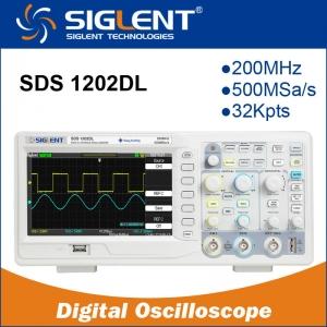 "Osciloscopio Digital Siglent SDS1202DL  200mhz 7"" Color - Osciloscopio Digital Siglent SDS1202DL  200mhz 7"" Color"