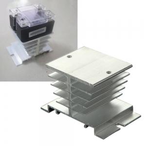 Disipador calor de aluminio para Rele estado solido   SSR de 10~40A - Disipador calor de aluminio para Rele estado solido   SSR de 10~40A