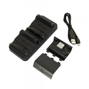 Base de Carga Dual para Xbox One + 2 baterias recargables 1200mah - Base de Carga Dual para Xbox One incluye 2 baterias para mando xbox one