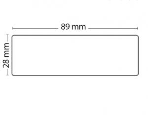 Rollo de 130 Etiquetas Adhesivas tamaño 89mm*28mm*130 Unidades compatible Dymo99010 - Rollo de 130 etiquetas adhesivas profesionales, hechas con papel de primera calidad. Especificamente diseñadas para el sistema de impresión termal directo Dymo.