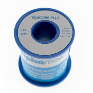Bobina estaño 0,5 mm 500 gr - Bobina estaño con plomo 0,5 mm/500 gr