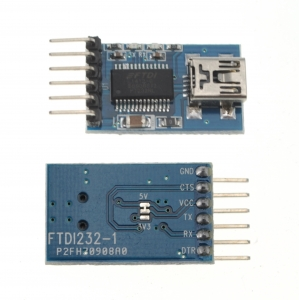 3.3v 5.5v Adaptador usb fdti  a serial  Ft232rl Ftdi  para Arduino Mini Port - FT232RL FTDI USB a TTL Conversor Serie 3,3-5V