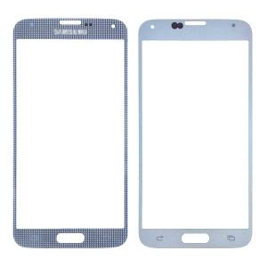 Pantalla de Cristal Samsung Galaxy S5 BLANCO - Pantalla de Cristal Samsung Galaxy S5 BLANCO